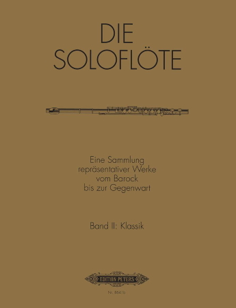 THE SOLO FLUTE Volume 2: Classical