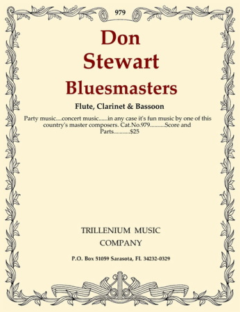 BLUESMASTERS Op.38 score & parts