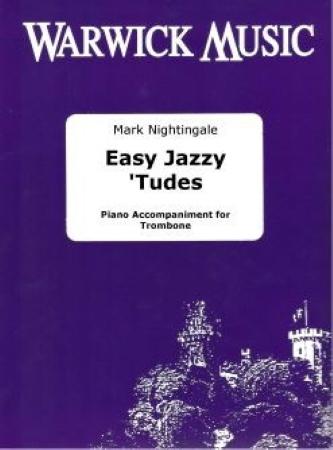 EASY JAZZY 'TUDES Piano Accompaniment