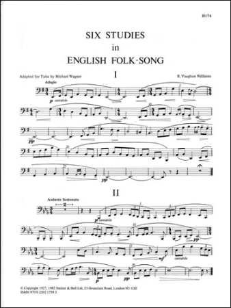 SIX STUDIES IN ENGLISH FOLK-SONG Tuba part