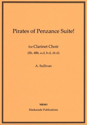 THE PIRATES OF PENZANCE Suite (score & parts)