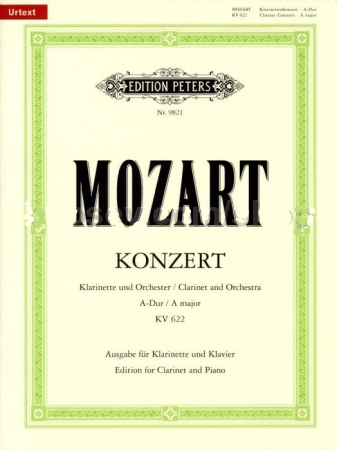 CONCERTO in A major K622 + CD