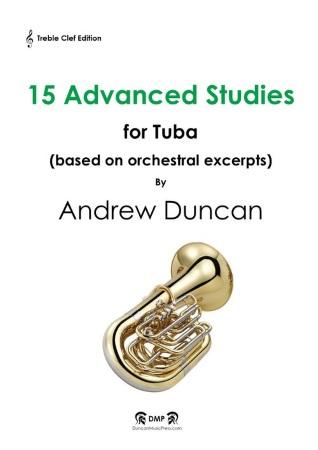 15 ADVANCED STUDIES (treble clef)