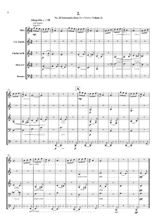 SIX PIECES FOR CHILDREN (score & parts)