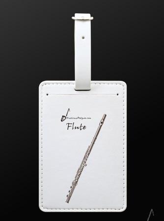 LUGGAGE TAG Flute