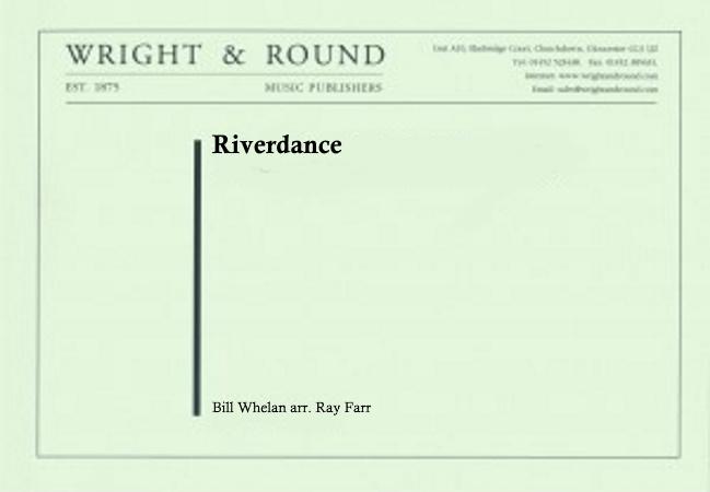 RIVERDANCE (score & parts)