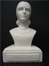 COMPOSER BUST Clara Schumann (Porcelain)