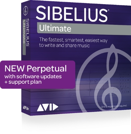 SIBELIUS Ultimate Perpetual licence + 1 year of Support and Updates (Digital Delivery)