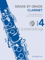 GRADE BY GRADE Clarinet Grade 4 + CD