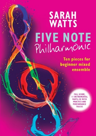 FIVE NOTE PHILHARMONIC + CD (score & parts)