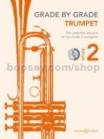 GRADE BY GRADE Trumpet Grade 2 + CD