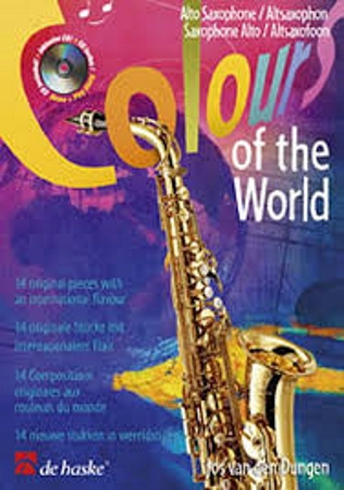 COLOURS OF THE WORLD + CD 14 original compositions