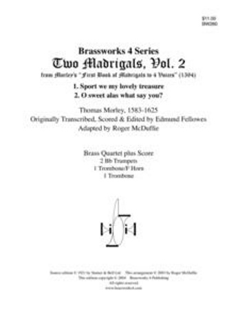 2 MADRIGALS Volume 2