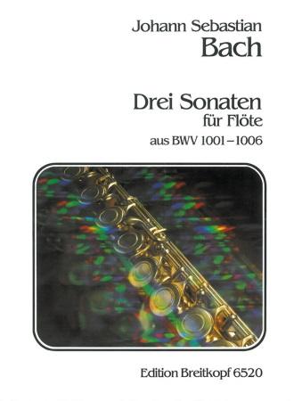 THREE SONATAS FROM BWV 1001-1006