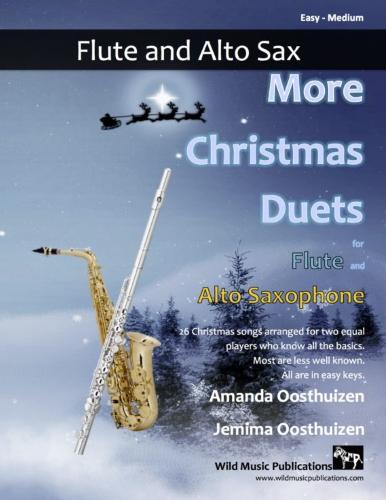 MORE CHRISTMAS DUETS for Flute & Alto Saxophone