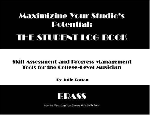 MAXIMISING YOUR STUDIO'S POTENTIAL Student Log Book