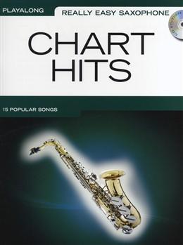 REALLY EASY SAXOPHONE CHART HITS + CD