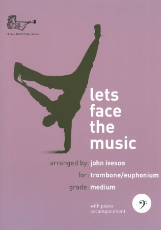 LET'S FACE THE MUSIC + CD (bass clef)
