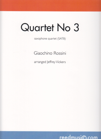 QUARTET No.3 score & parts