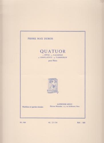 QUATUOR score & parts