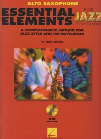 ESSENTIAL ELEMENTS for Jazz Ensemble + CD alto