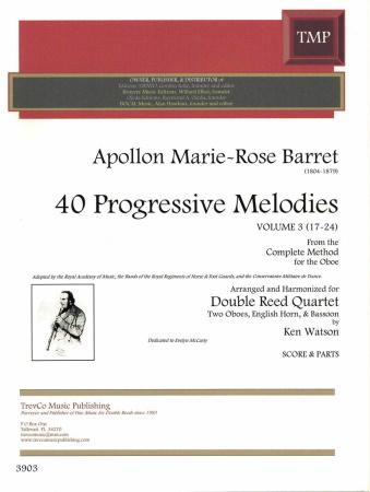 40 PROGRESSIVE MELODIES Volume 3