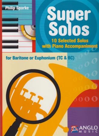 SUPER SOLOS + CD (treble/bass clef)