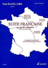 SUITE FRANCAISE Op.114 (orig. cello)
