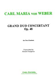 GRAND DUO CONCERTANTE Op.48 (playing score)