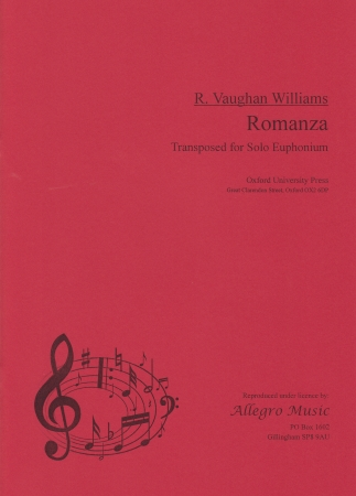 ROMANZA from Tuba Concerto (part only)