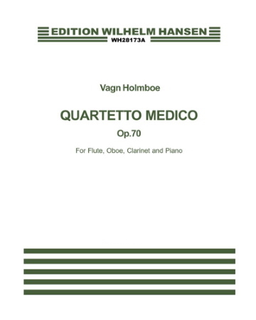 QUARTETTO MEDICO Op.70 (miniature score)