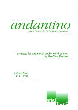 ANDANTINO from Concerto No.3 score & parts