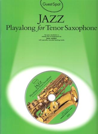 GUEST SPOT: Jazz Playalong + CD