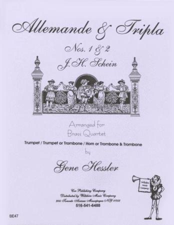 ALLEMANDE AND TRIPLA Nos.1&2
