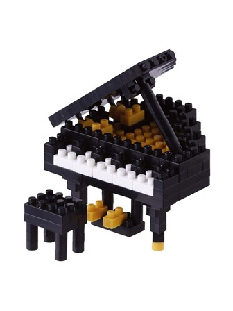 NANOBLOCK Grand Piano (Black)