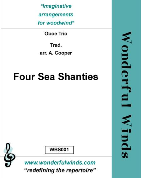 FOUR SEA SHANTIES (score & parts)