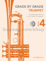 GRADE BY GRADE Trumpet Grade 4 + CD