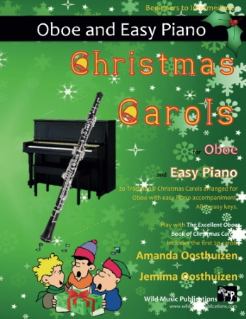 CHRISTMAS CAROLS for Oboe & Easy Piano