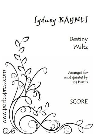 DESTINY WALTZ (score & parts)