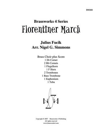 FLORENTINER MARCH (score & parts)