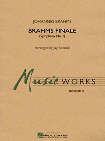 BRAHMS FINALE ( FROM SYMPHONY NO. 1 ) (score & parts)