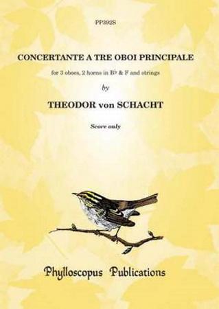 CONCERTANTE A TRE OBOI PRINCIPALE score
