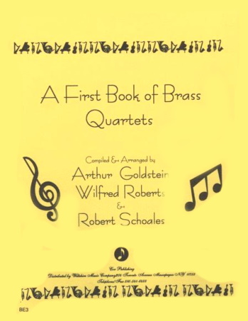 A FIRST BOOK OF BRASS QUARTETS