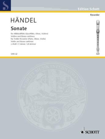 SONATA No.1 in C minor Op.2 No.1 HWV 386a