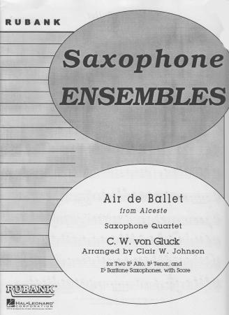 AIR DE BALLET from 'Alceste'