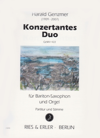 KONZERTANTES DUO, GeWV 422