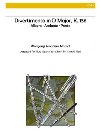 DIVERTIMENTO in D major, K. 136