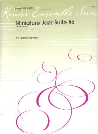 MINIATURE JAZZ SUITE No.6 (score & parts)
