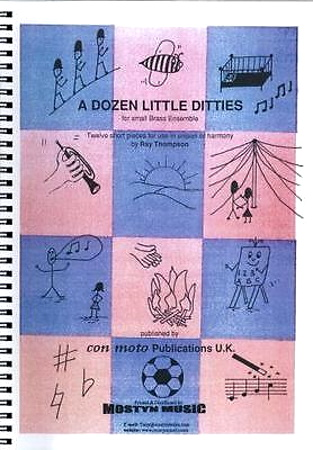 A DOZEN LITTLE DITTIES score & 10 parts