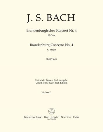 Brandeburg Concerto No.4 - Violin 1